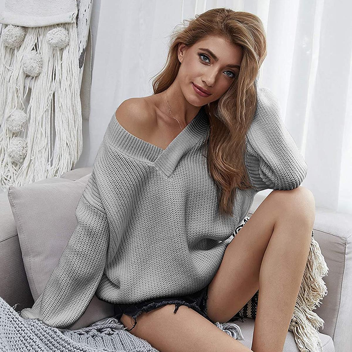 makemechic-amazon-grey-sweater