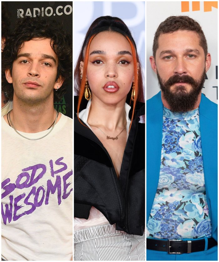The 1975's Matty Healy Praises Girlfriend FKA Twigs Amid Shia LaBeouf Lawsuit