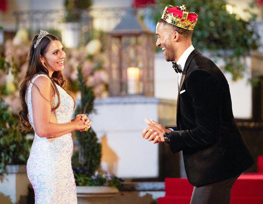 Victoria and Matt James on The Bachelor Bachelor Queen Victoria Larson 5 Things To Know