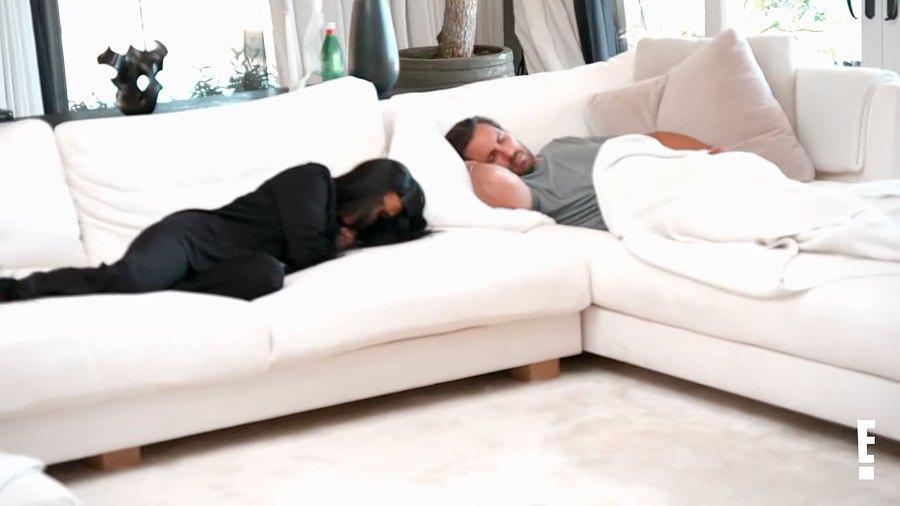 Kourtney Kardashian and Scott Disick Sleeping Kardashians Say a Tearful Goodbye to KUWTK in First Final Season Promo