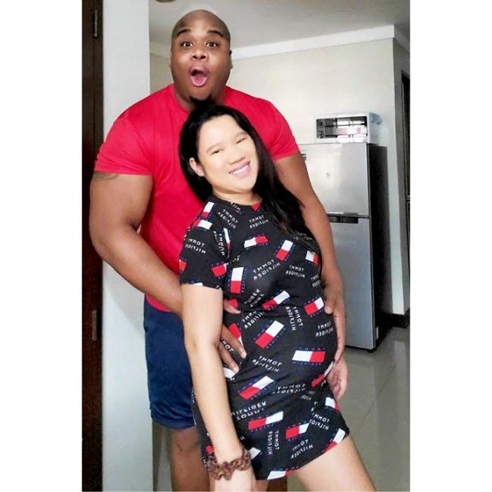 La prometida de 990 días, Rigin Bado, está embarazada de su primer hijo Dean Hashim juntos