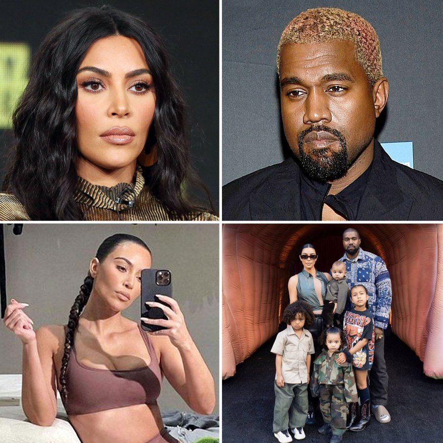 All the Signs Kim Kardashian Kanye West Were Headed Split