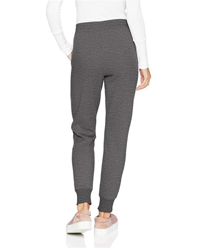 Amazon Essentials - Pantalón de chándal de felpa francesa de ajuste relajado para mujer