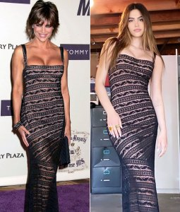 Amelia Hamlin Looks Incredible in Her Mom Lisa Rinna's Vintage Alaia Dress