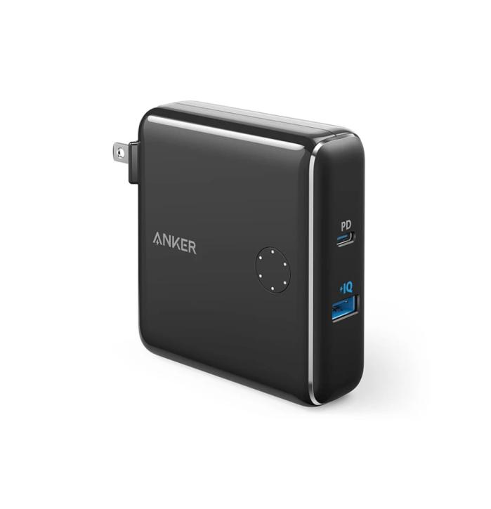 Anker |  Cargador de pared y batería portátil PowerCore Fusion 10K