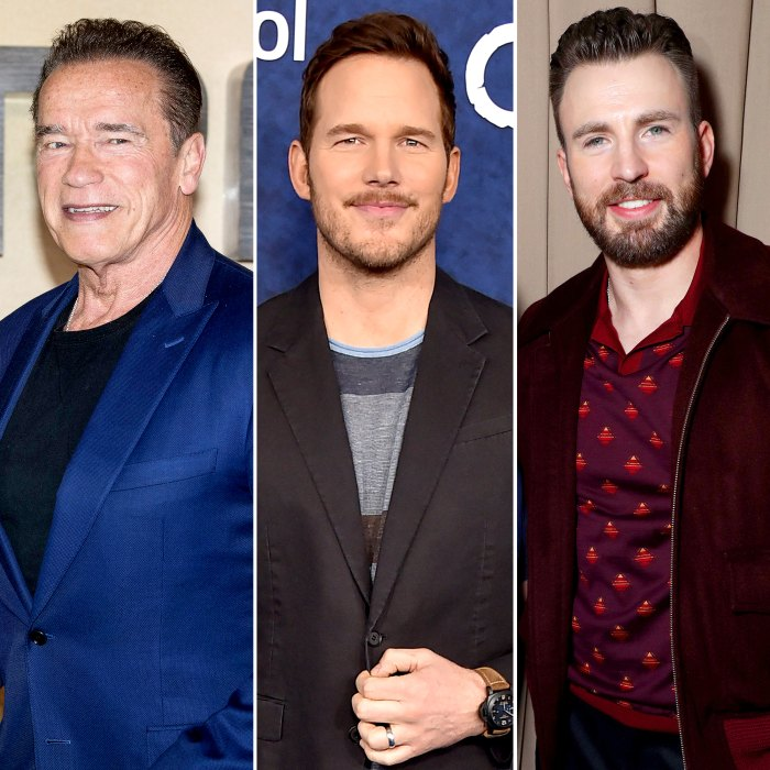 Arnold Schwarzenegger Accidentally Refers to Favorite Son-in-Law Chris Pratt as Chris Evans