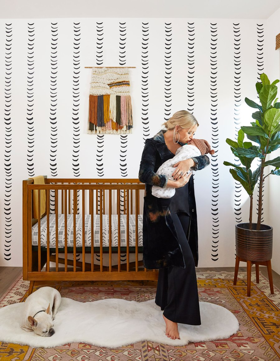 Ashlee Simpson Shows Her and Evan Ross' Son Ziggy's 'Bohemian' Nursery: Pics