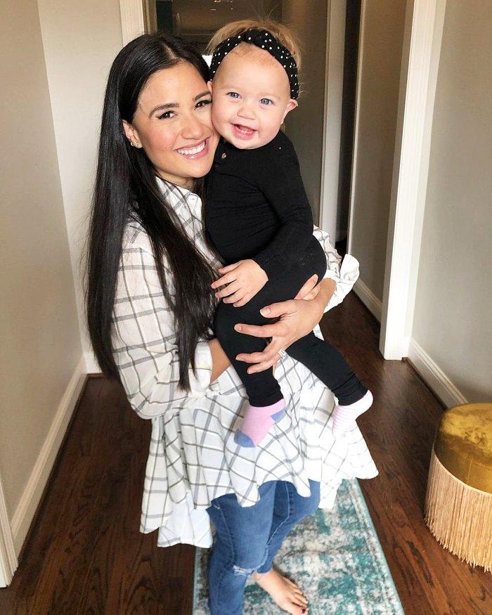 Bachelor Nations Catherine Giudici revela que perdió 20 libras desde que dio a luz a su hija Mia