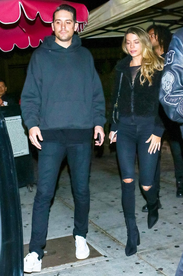 G-Eazy and Sarah Trott outside Delilah Nightclub Bachelor Season 25 Contestant Sarah Trott Was Once Labeled G-Eazy Mystery Woman