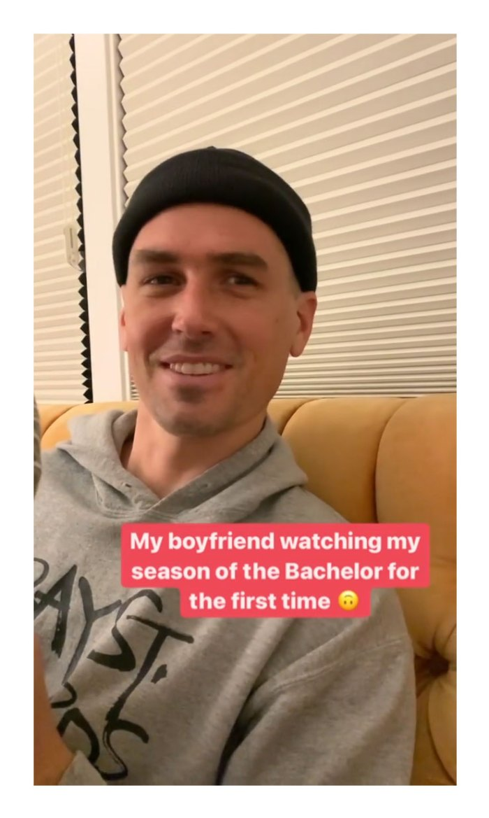 Bekah Martinez novio Grayston Leonard hilarantemente celoso mira su temporada de soltero