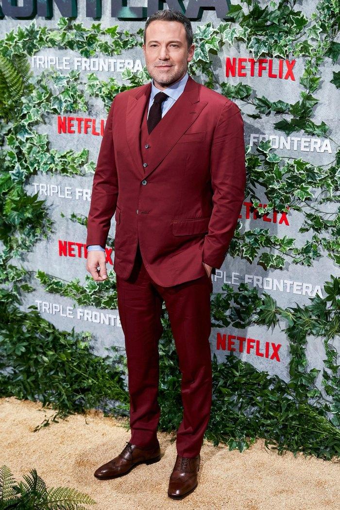 Ben Affleck se agachó escribiendo su próxima película en medio de la cuarentena