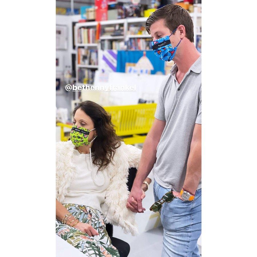 Bethenny Frankel Paul Bernon Spotted Holding Hands 2 Months After Split