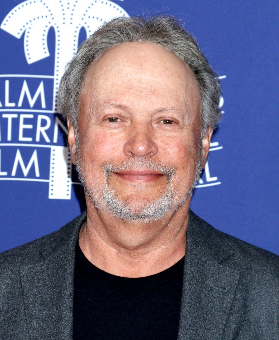 Billy Crystal Jokes That His COVID-19 Vaccine Came With Free Scarf