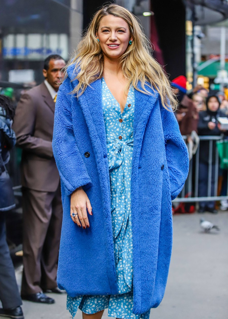 Blake Lively Recalls Feeling 'Insecure' About Post-Baby Body Because She 'Didn't Fit Into Clothes'