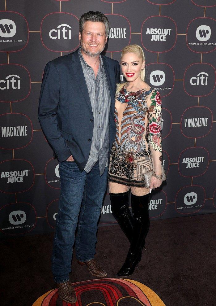 Blake Shelton promete perder peso en cuarentena antes de casarse con Gwen Stefani