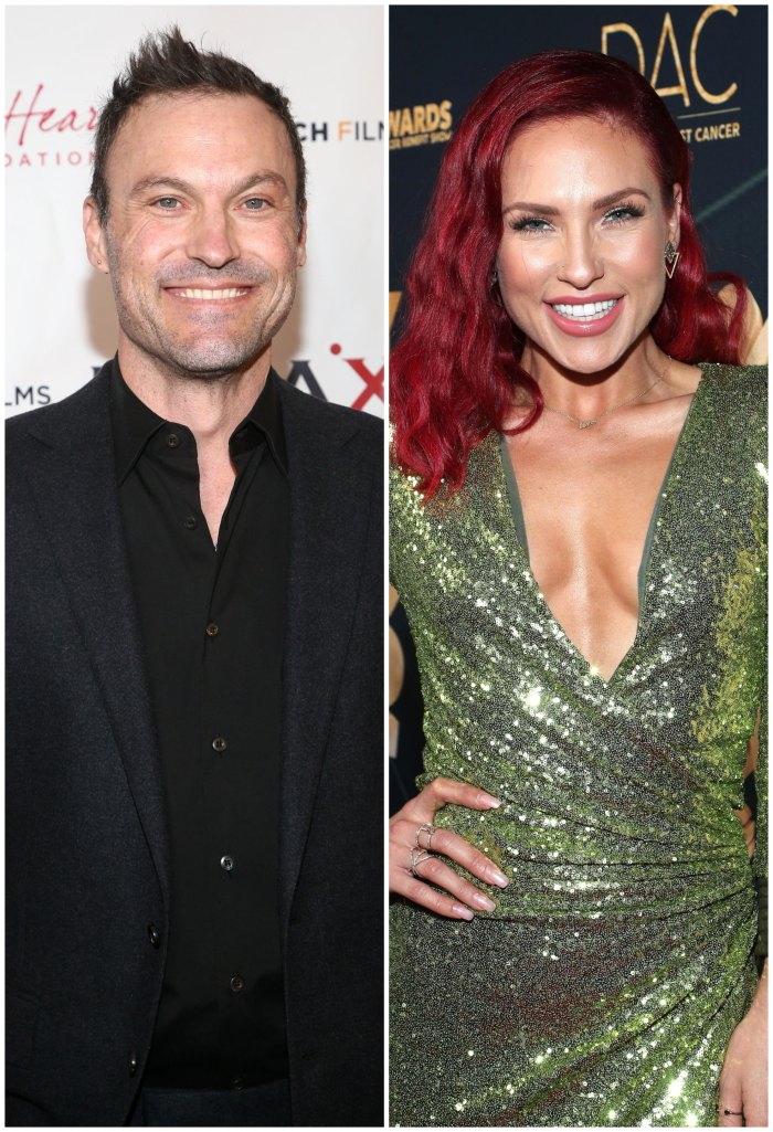 Brian Austin Green Says New Flame Sharna Burgess Is 'Caring, Passionate and Fun'