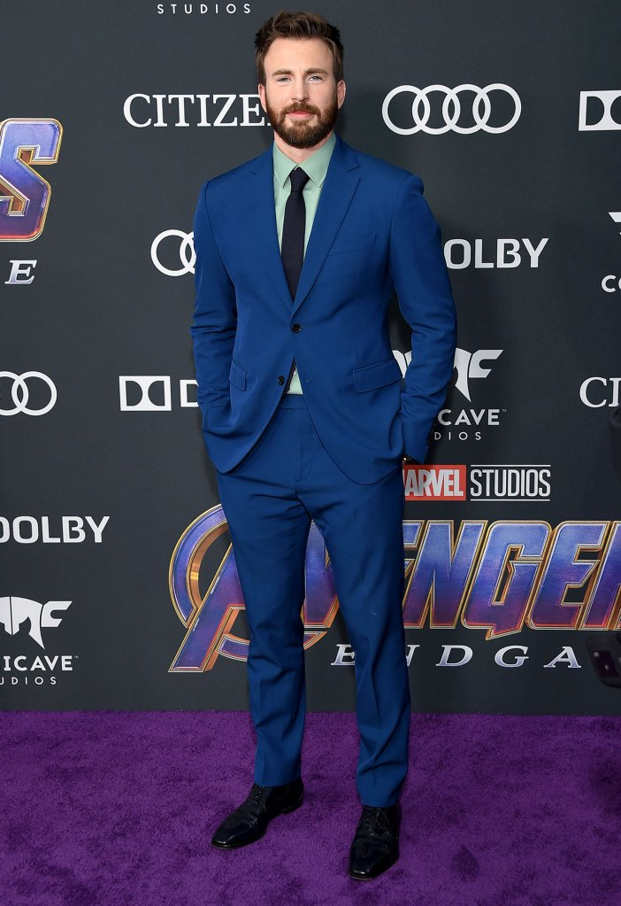 Chris Evans Responds to Claims Hes in Talks to Reprise Captain America Role