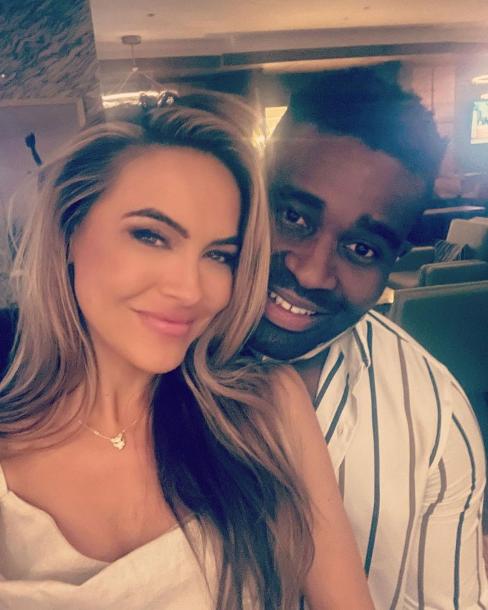 Chrishell Stause Claps Back at Troll Who Assumes Reason for Justin Hartley Divorce Keo Motsepe
