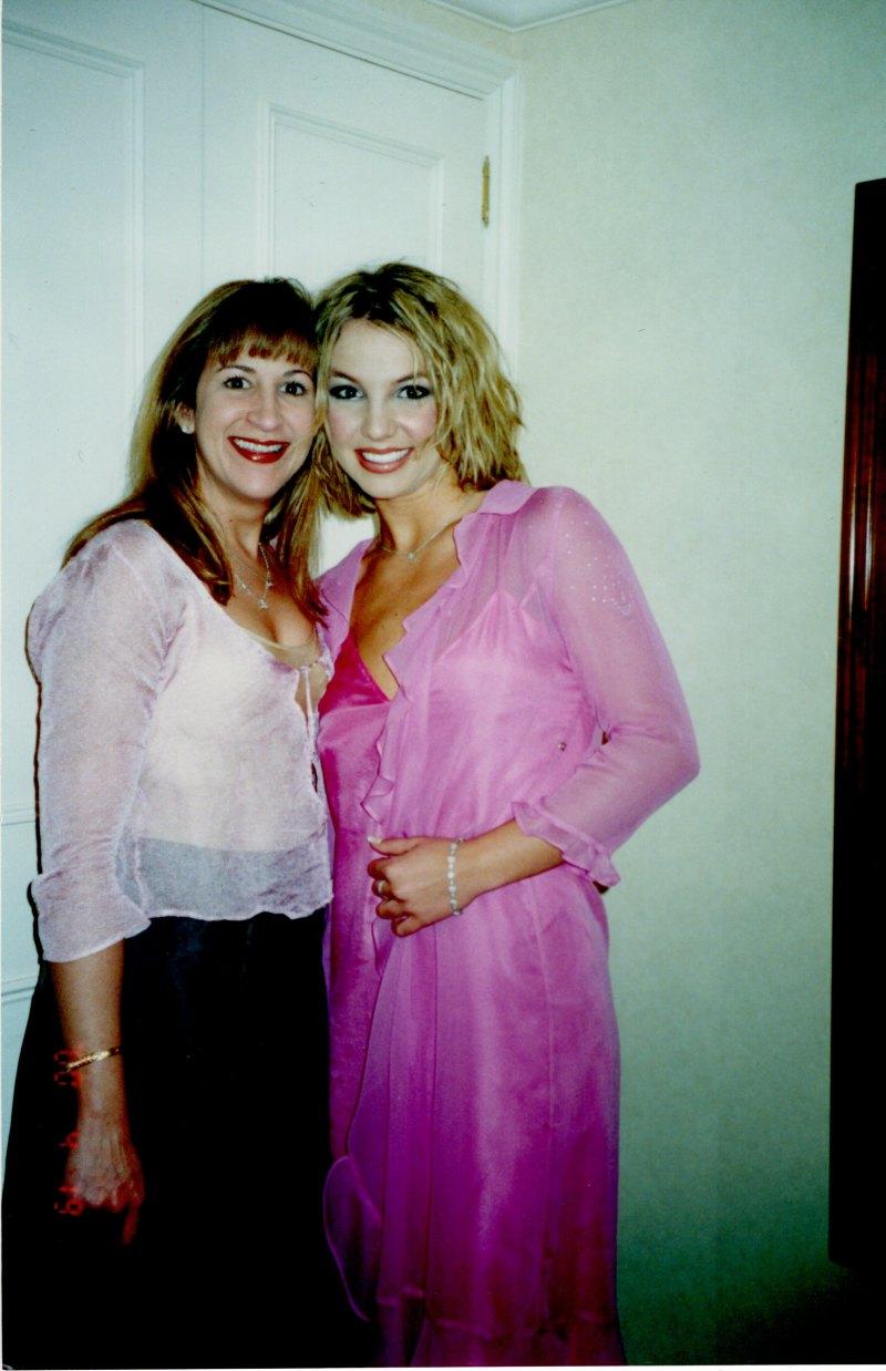 Britney Spears and Felicia Culotta