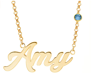 CustomOwnJewelry Personalized Name Necklace