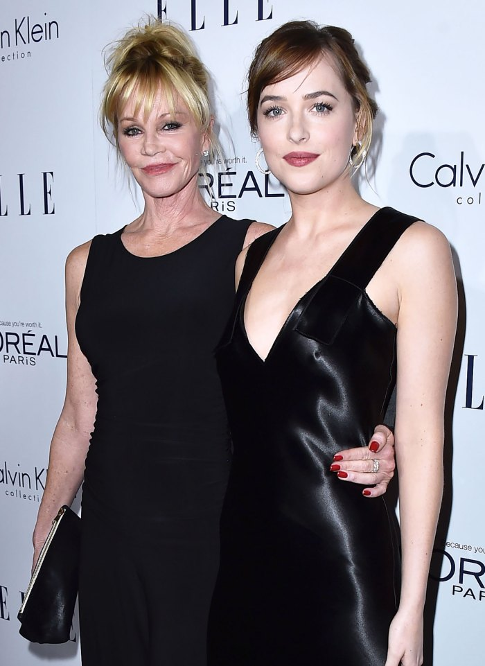 Dakota Johnson's Mom Melanie Griffith Took Her to Get Her 1st Tattoo