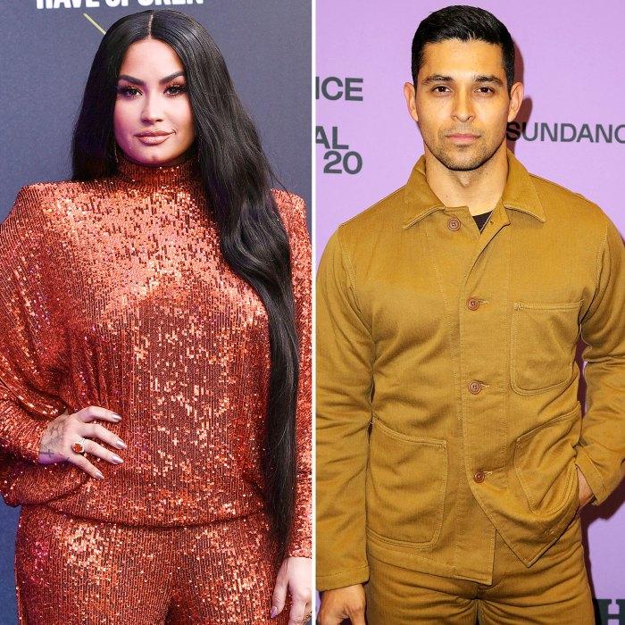 Demi Lovato Wilmer Valderrama reúne a encantadores amantes cruzados de estrellas