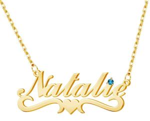 DesignForYou Custom Name Necklace