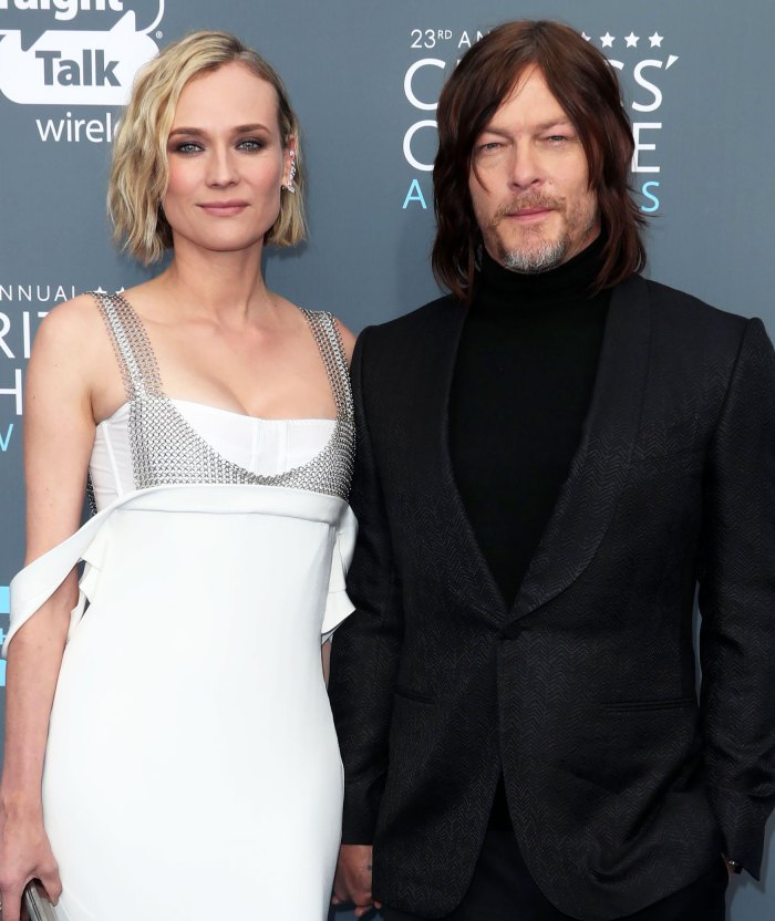 Diane Kruger and Norman Reedus' 2-Year-Old Daughter Gives Him a Manicure