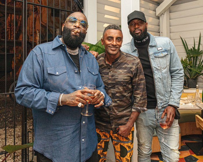 Dwyane Wade Celebrated His Birthday at Miami Hotspot Red Rooster Overtown Rick Ross Marcus Samuelsson