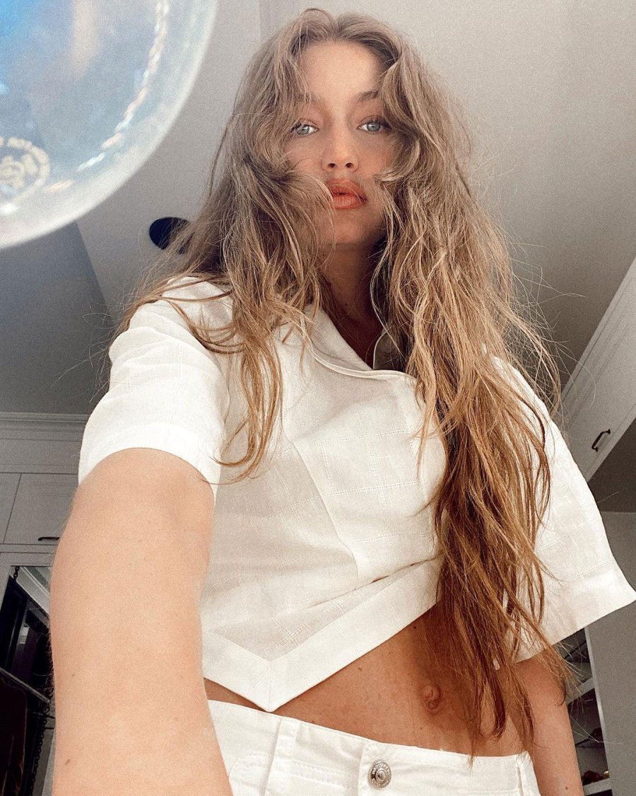 Gigi Hadid Flashes Her Abs in Stunning Post-Baby Bod Pics