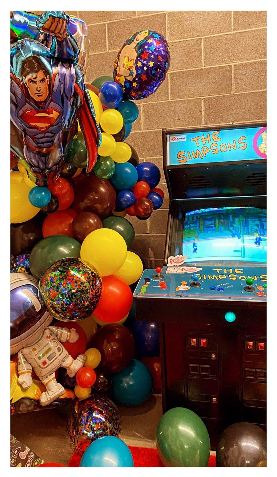 Gigi Hadid Zayn Malik Video Game-Themed Birthday Party