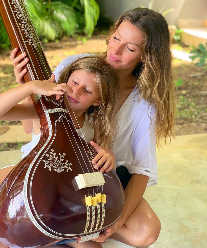 Gisele Bundchen's Daughter Recreates One of Her Mom's Most Iconic Shoots