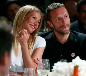 Friendly Exes! Gwyneth Paltrow Calls Chris Martin Her 'Lil Baby Daddy'