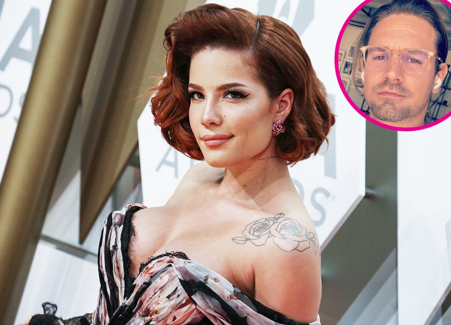 Halsey and Alev Aydin pregnant