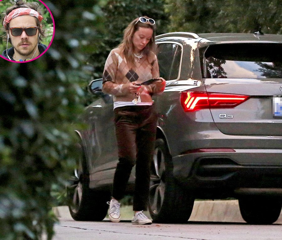 Harry Styles and Olivia Wilde Spotted Together at His L.A. Home Amid Relationship Rumors