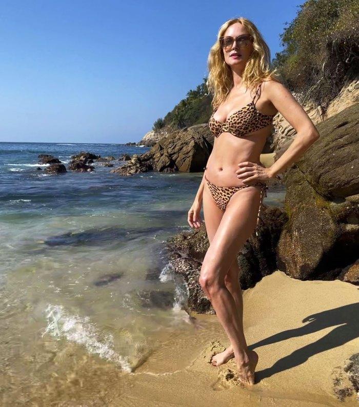 Heather Graham, 50, Rocks a Super Hot Animal Print Bikini