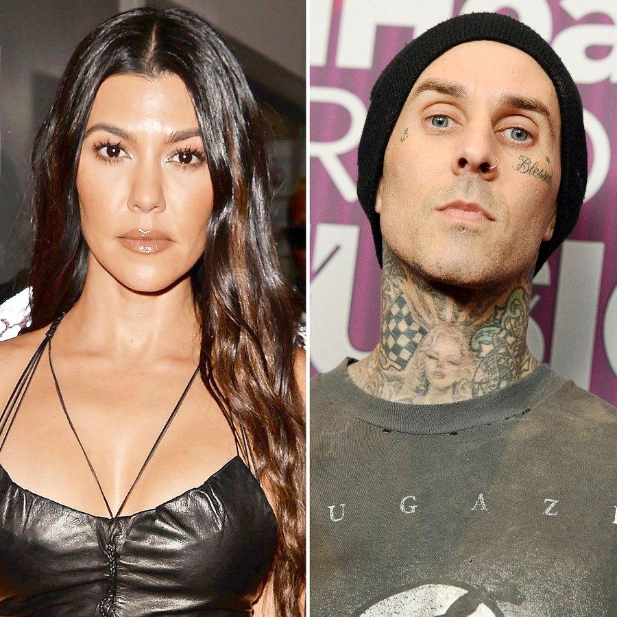 Kourtney Kardashian, Travis Barker's Relationship Timeline