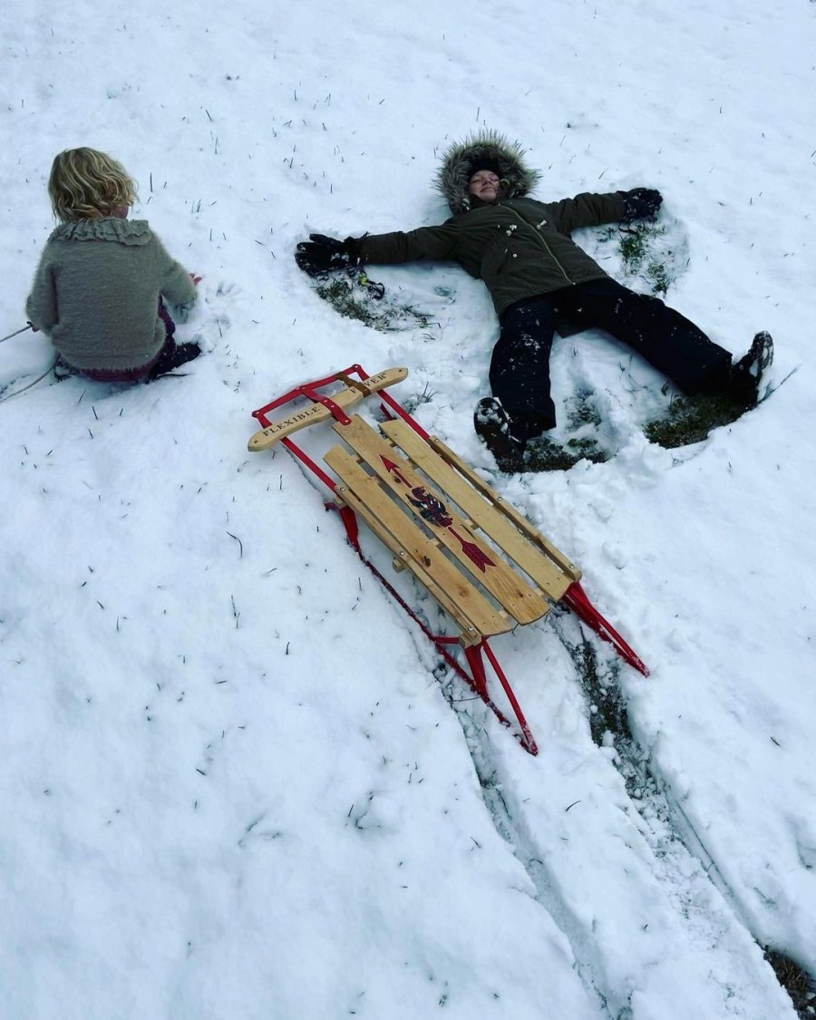 James Van Der Beek Magic Texas Snow Day