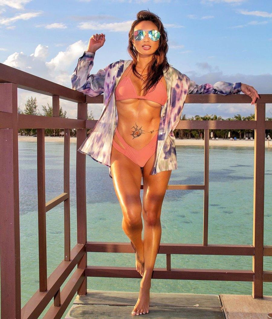 Feeling 42! Jeannie Mai Shows Off Her Wildly Toned Bikini Bod