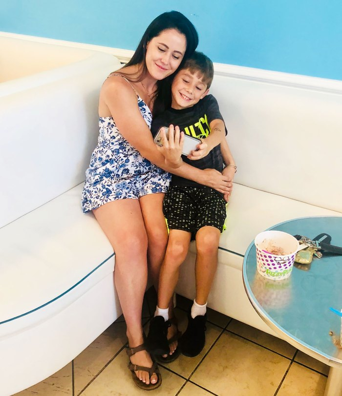 Jenelle Evans' Son Jace, 11, Says Living With Mom Feels 'Good'