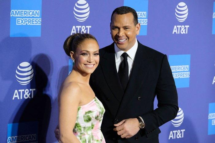 Jennifer Lopez Alex Rodriguez Palm Springs International Film Festival Awards