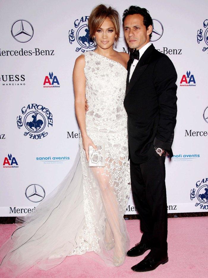 Jennifer Lopez no se ama a sí misma durante la relación con Marc Anthony