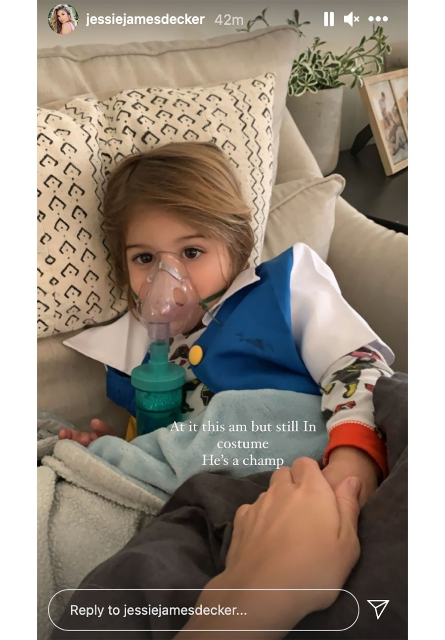 Jessie James Decker Says Son Forrest, 2, Has Asthma After 3 Hospital Trips in 6 Weeks