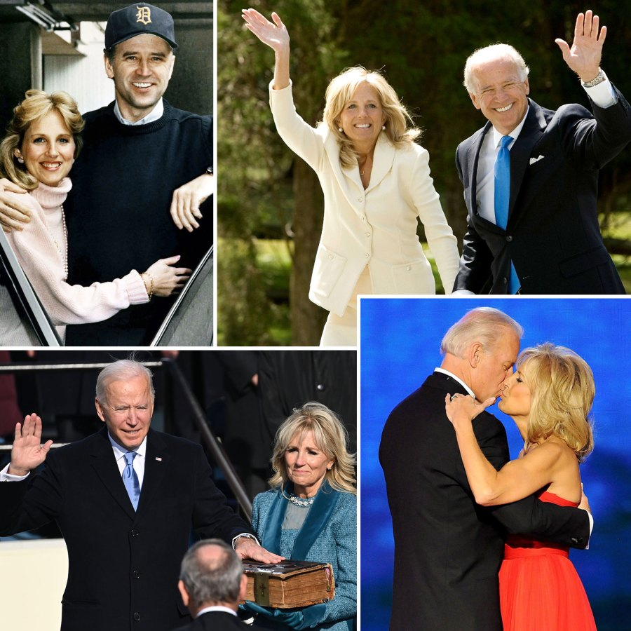 Joe Biden Jill Biden Relationship Timeline