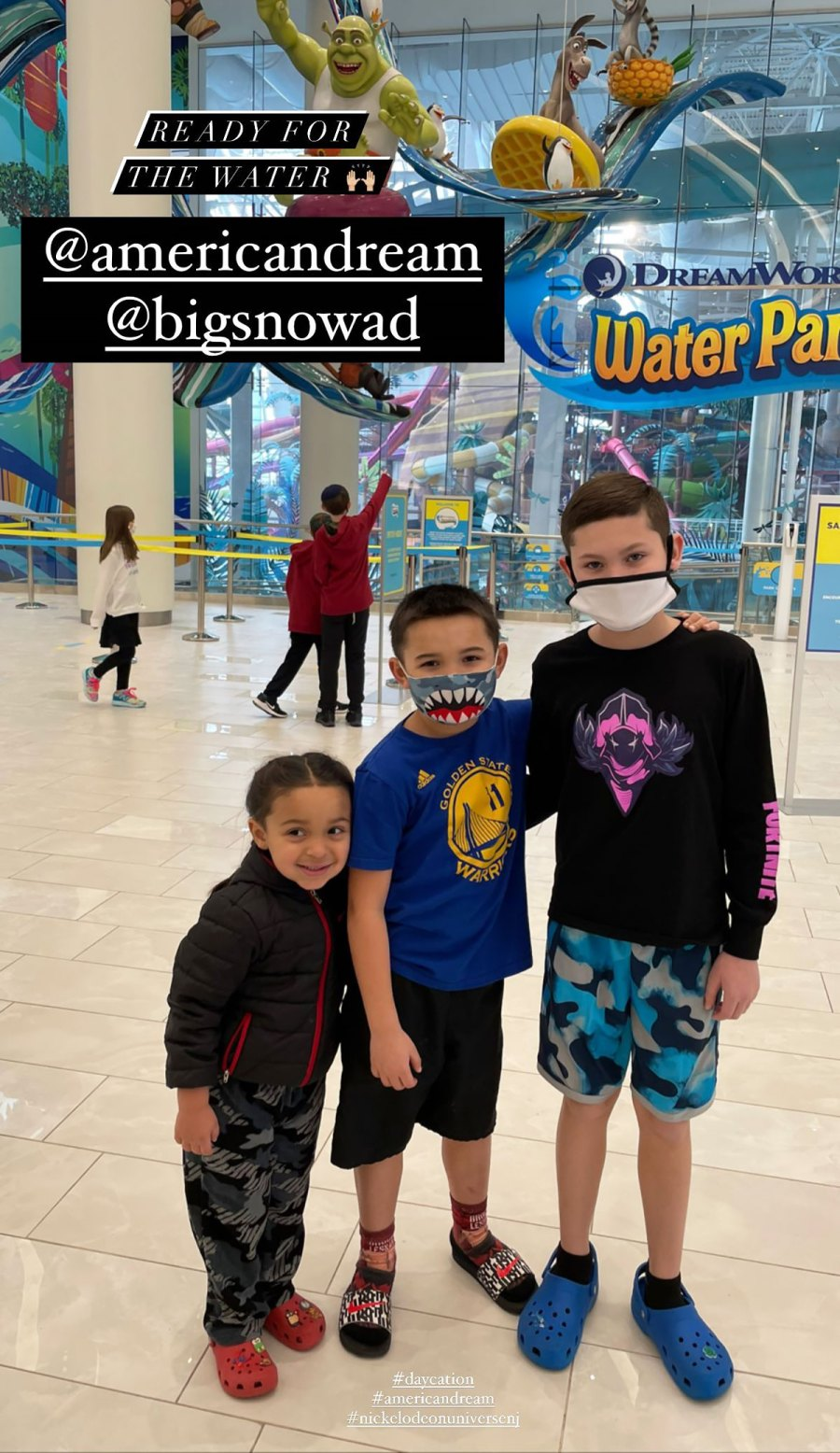 Kailyn Lowry Takes 4 Sons on '1st Water Park Trip' Amid Pandemic: Pics