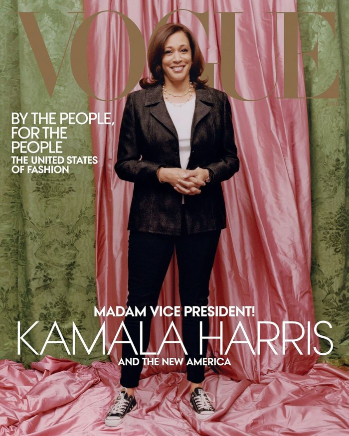 Why People Are Upset With Kamala Harris' American 'Vogue' Cover