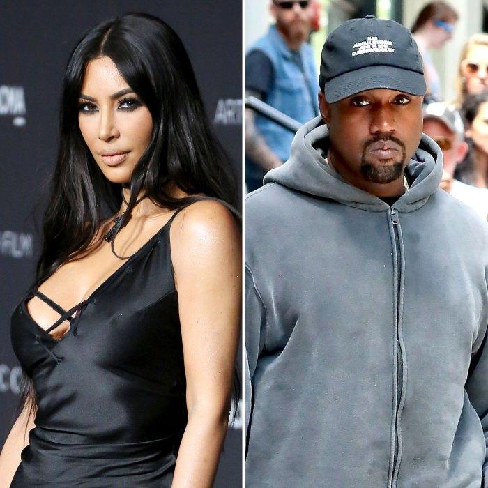 Kim Kardashian Kanye West Big Fight Led Marriage Trouble