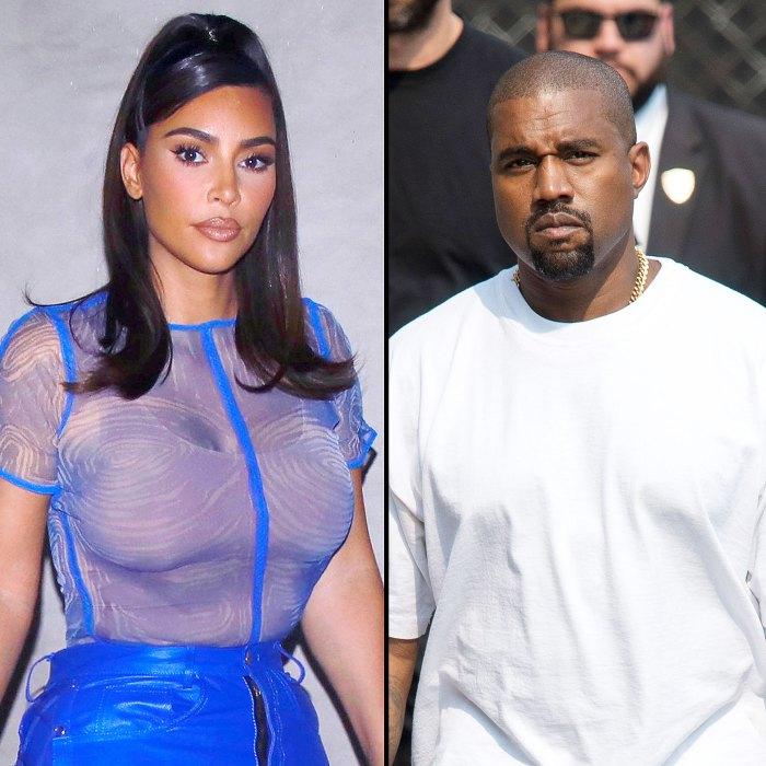 Kim Kardashian Kanye West Had Big Fight December Amid Divorce News