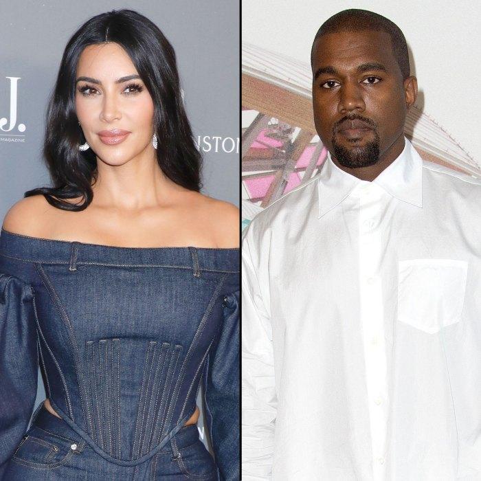 Kim Kardashian en paz mientras se avecina el divorcio de Kanye West