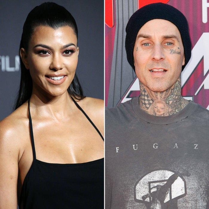 Comentarios de Kourtney Kardashian sobre el video retro de su novio Travis Barker